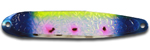 Warrior Lures FL 327NC Virus Flutter fishing spoons.  Salmon, SteelHead and Walleye fishing spoons.